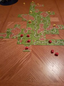 Playing Carcassonne