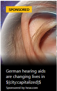 Advertisement Oops