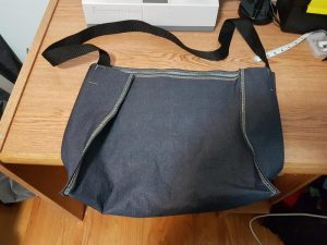 Completed Denim Bag