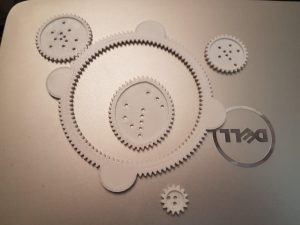 Homemade Spirograph!
