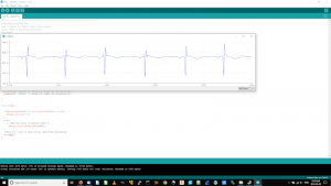 Heartbeat Output of Arduino module